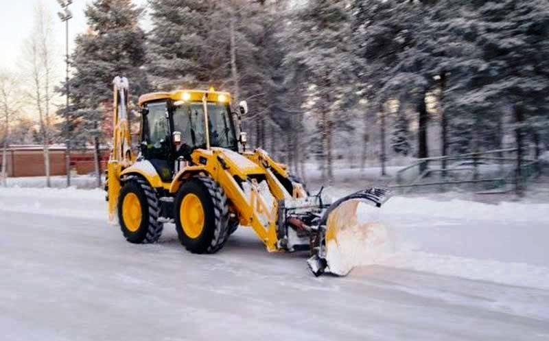 Инструкция по уборка снега